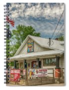 Defiance Road House St Charles Mo 7r2_dsc6907_04262017 Spiral Notebook