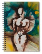 Defining Her Place More Than Series No. 1406 Spiral Notebook