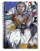 Degas Girl Spiral Notebook