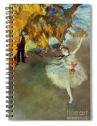 Degas Star, 1876-77. To License For Professional Use Visit Granger.com Spiral Notebook
