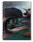 Degouve: Angels, 1894 Spiral Notebook