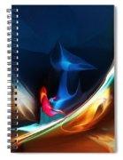 Deja Vu Spiral Notebook