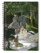 Dejeuner Sur Lherbe Spiral Notebook