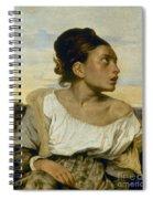 Delacroix: Orphan, 1824 Spiral Notebook