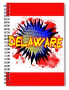 Delaware Comic Exclamation Spiral Notebook