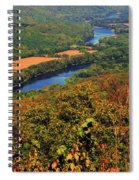 Delaware River From The Appalachian Trail Spiral Notebook