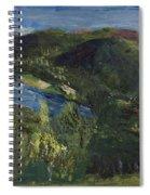 Delaware River Summer Spiral Notebook