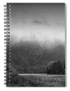 Delaware Water Gap Clouds Set In Spiral Notebook
