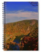 Delaware Water Gap In The Fall Spiral Notebook
