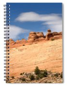 Delicate Arch Famous Landmark In Arches National Park Utah Spiral Notebook