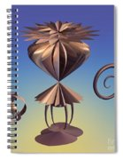 Delicate Balance Spiral Notebook