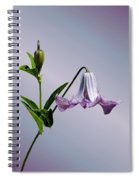 Delicate Bell Spiral Notebook