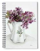 Delicate Bouquet Spiral Notebook