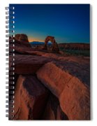 Delicate Dawn Spiral Notebook