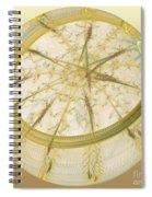 Delicate Decoration Spiral Notebook