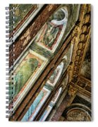 Delicate Details Versailles Chateau Up Close Interior France  Spiral Notebook