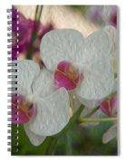 Delicate Flower Spiral Notebook