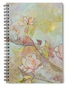 Delicate Magnolias Spiral Notebook
