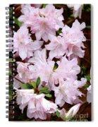 Delicate Pink Azaleas Spiral Notebook