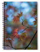Delicate Signs Of Autumn Spiral Notebook