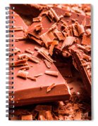 Delicious Bars And Chocolate Chips  Spiral Notebook