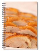 A Delicious Meal Of Roast Duck Spiral Notebook