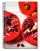 Delicious Pomegranate Spiral Notebook