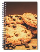 Delicious Sweet Baked Biscuits  Spiral Notebook