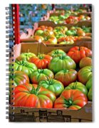 Delicious Tomatoes Spiral Notebook