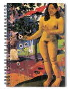 Delightful Land. Te Nave Nave Fenua Spiral Notebook