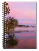 Delightfully Pink Morning Spiral Notebook