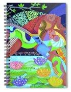 Delirios Spiral Notebook