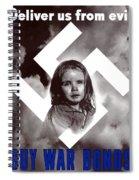 Deliver Us From Evil Spiral Notebook