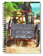 Delivery Spiral Notebook