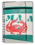 Delma Ann Spiral Notebook