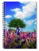 Delphinium Daydreams Spiral Notebook