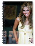 Delta Goodrem Spiral Notebook