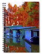 Delta Light And Reflections Spiral Notebook