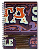 Delta Saloon 1876 Spiral Notebook