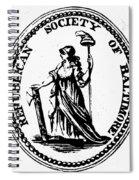 Democratic-republican Party Spiral Notebook
