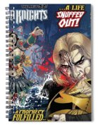 Demon Knights Spiral Notebook