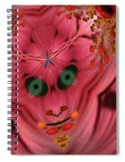 Demon Within Spiral Notebook