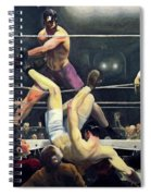 Dempsey And Firpo  Spiral Notebook