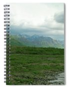 Denali National Park Landscape 2 Spiral Notebook