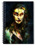 Denebris Impression Portrait 672 Spiral Notebook