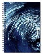 Denim And Light  Abstract 1 Spiral Notebook