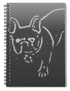Butterfly The Frenchie Spiral Notebook
