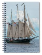 Denis Sullivan Spiral Notebook