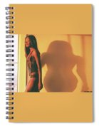 Denise And Shadow Spiral Notebook