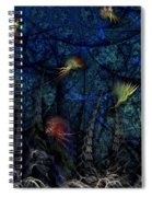 Denizens Spiral Notebook